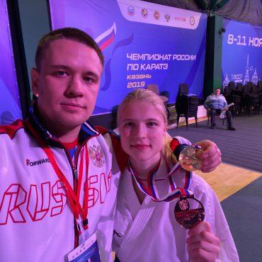 Превосходный дебют на чемпионате России по каратэ тольяттинской спортсменки Анны Чернышевой!