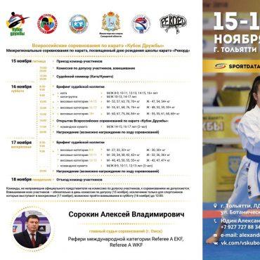 В Тольятти приедут 1200 каратистов