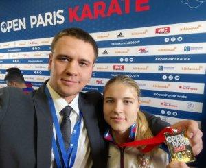 Анна Чернышева выиграла первый этап премьер-лиги каратэ в Париже